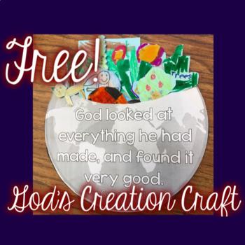 Free!  God's Creation Craft