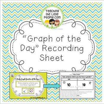 """Free """"Graph of the Day"""" Data Recording Page"""