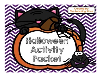 Free Halloween Activity Pack