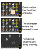 Halloween Activities Interactive Attendance for All Whiteb