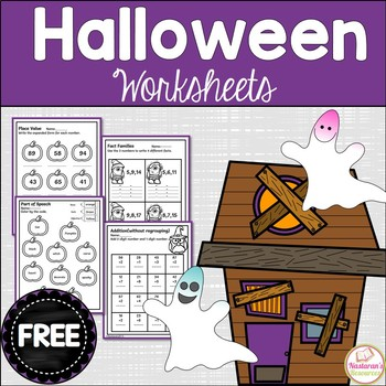 Free Halloween Math And Literacy