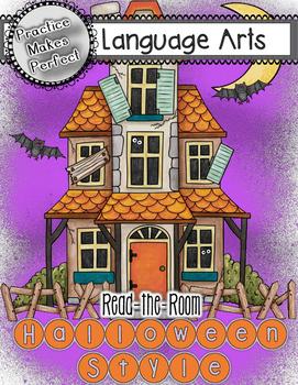 Free Halloween Read-the-Room Sight Word Practice