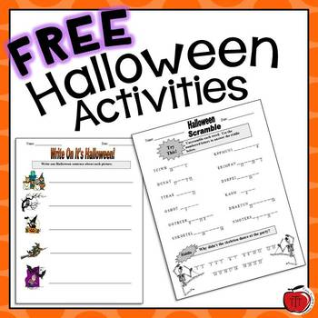 Printables Halloween Worksheets free halloween worksheets by tchrbrowne teachers pay worksheets