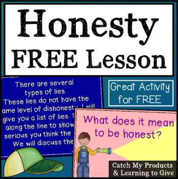 Free Honesty Lesson for Power Point