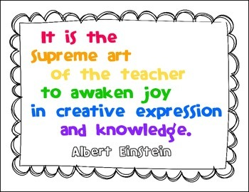 Free Inspirational Albert Einstein Quote