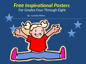 Free Inspirational Posters for Self Esteem and Writing Prompts