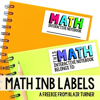 Free Interactive Notebook Labels