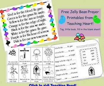 Free Jelly Bean Prayer Printables for Easter Fun