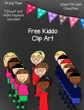 Free Kiddo Clip Art- 16 Png Images ~ Black and White Maste