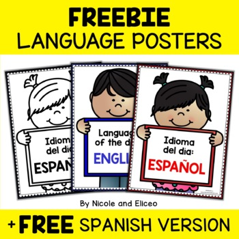 Free Language of the Day Signs