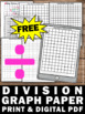 FREE Long Division Graph Paper Math Strategies for 4th 5th