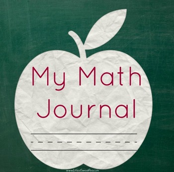 Free Math Journal Cover