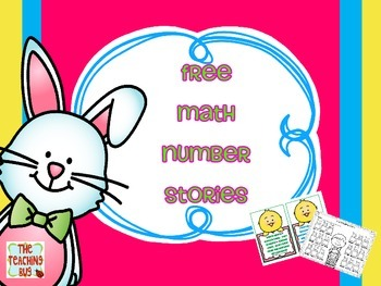 Free Math Number Stories