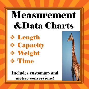 Measurement And Data Conversion Anchor Charts Freebie!