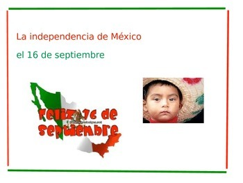 Free Mexican Independence Day Power Point for Beginners