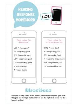 Free Mobile (i)Phone Reading Response Homework