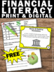 FREE Financial Literacy Money and Banking Vocabulary Task