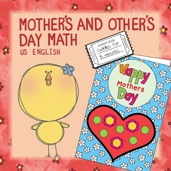 Free Mother's Day Math NO PREP US