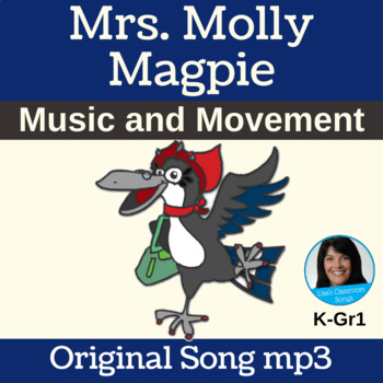 """Free Movement Classroom Song mp3 """"Mrs. Molly Magpie"""" by Li"""