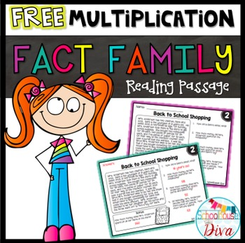 Free Multiplication Facts Reading Passage (3rd - 5th)