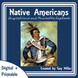 Native Americans (Free Lap Book)