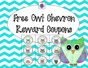 Free Owl Reward Coupons