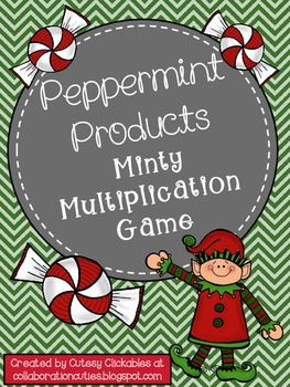 Free Peppermint Products {A Minty Multiplication Game}