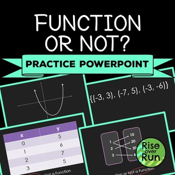 Function or Not? PowerPoint