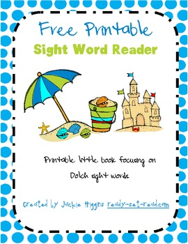 Free Printable Book for Early Readers