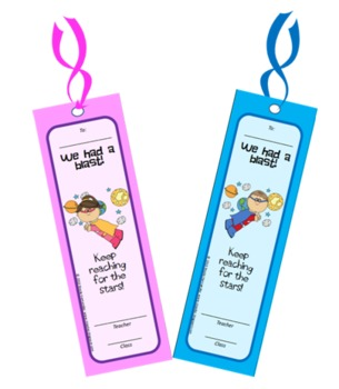 End of Year - Free Printable Bookmarks