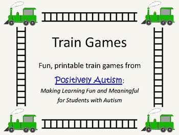 Free Printable Train Games