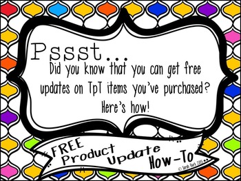 Free Product Update {How To}