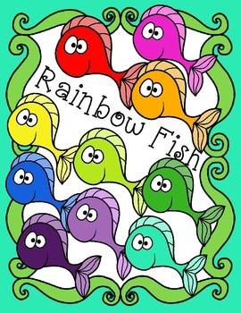 Free Rainbow Fish Clip Art