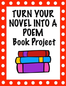 Free Reading Book Project - Turn Your Novel Into a Poem (+