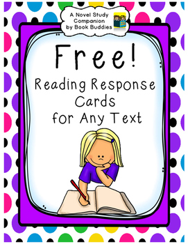 Reading Response Cards for Any Text
