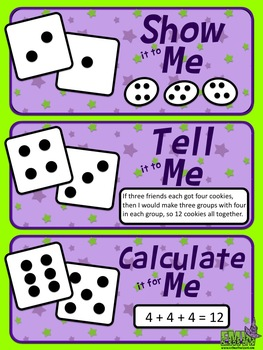Free: Roll and Reason Poster (Helps students explain their