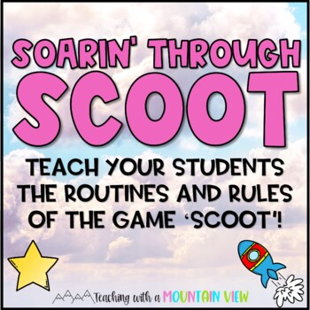 Free SCOOT Training Mission Task Cards {Back to School Cla