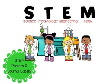 Free STEM Posters with Science Kids (Printable)