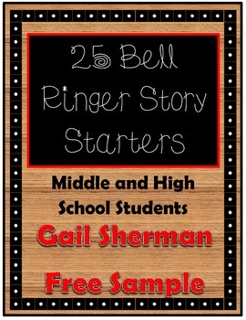 Free Sample: 25 Bell Ringers for Middle and High School Students