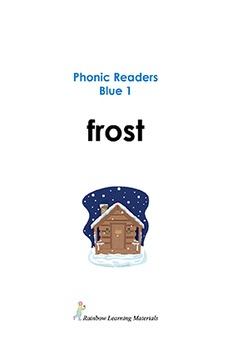 Free Sample Phonic Reader Books Blue 1