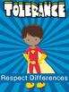 Free School Counseling Superhero Values Display
