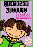 Free Sentence Writing ( copy the correct sentence)