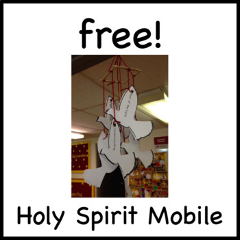 Free! Seven Gifts of the Holy Spirit Mobile Craft - Confir