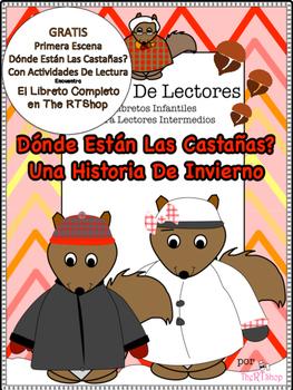 Free Spanish Reader's Theater Script First Scene, Squirrel