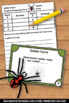 Free Spider Facts Task Cards Autumn or Halloween Science G