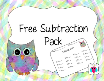 Free Subtraction Pack