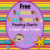 Free Summer Bookmarks, Count and Graph, and Reading Charts