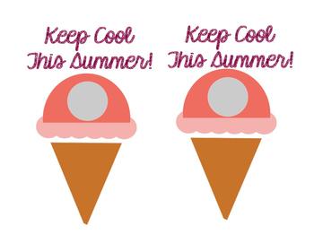 Free Summer Lip Balm Printable