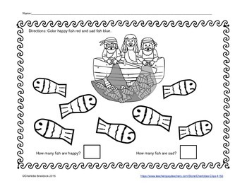 Free Surprise Catch Printable - Color and Count by Charlot