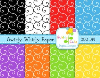 Free Swirly Whirly Papers